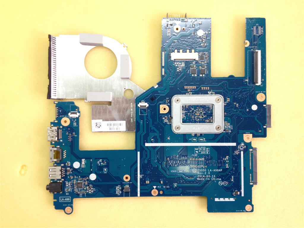 MOTHERBOARD ZSO50 LA-A994P  REV:2.0 FOR LAPTOP HP 15-r127nv