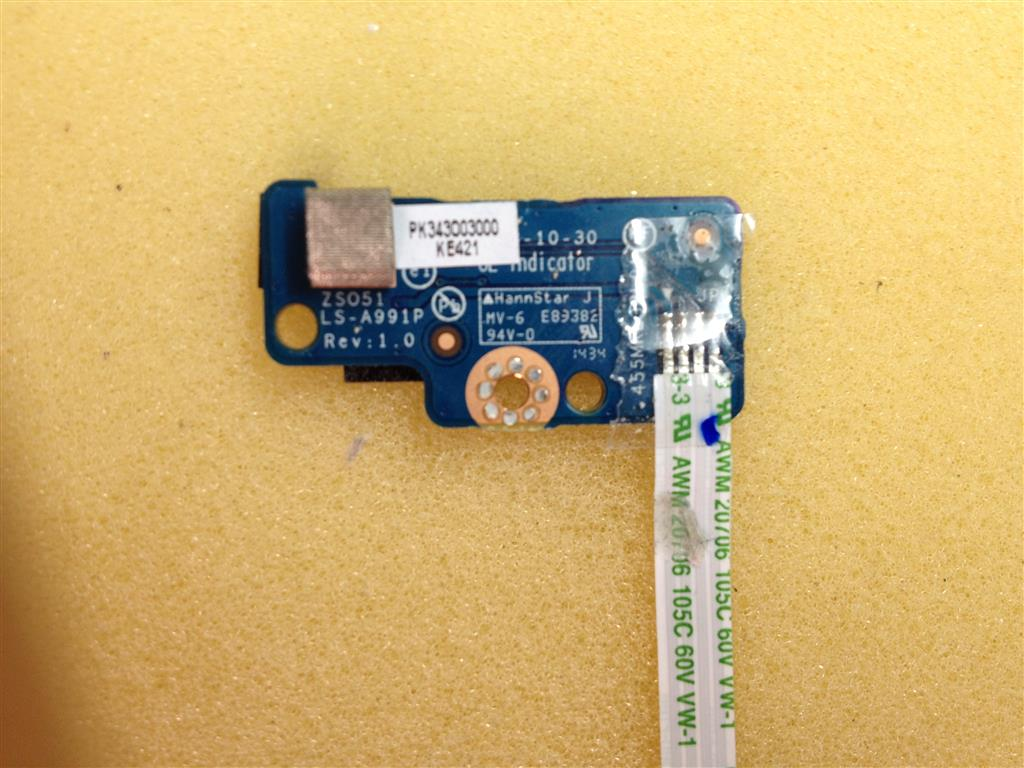 POWER BUTTON LS-A991P FOR LAPTOP HP 15-r127nv