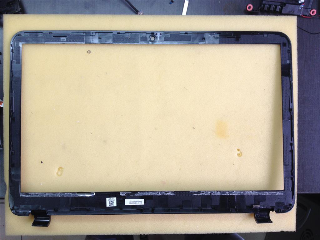 LCD FRONT BEZEL SCREEN COVER 15.6 FA14D000400 FOR LAPTOP HP 15-r127nv